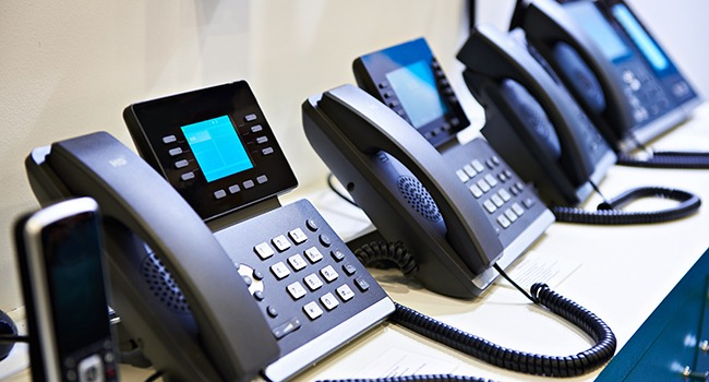IP phones for office on the store shelves